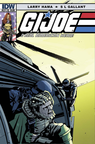 G.I. Joe: A Real American Hero #213 (Subscription Cover)