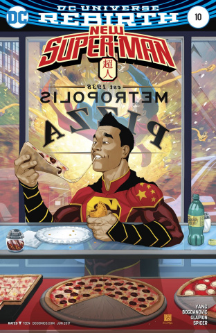 New Super-Man #10 (Variant Cover)