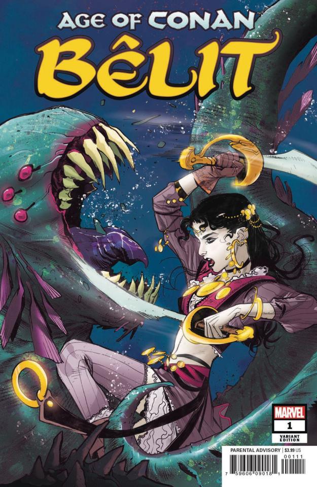 Age of Conan: Bêlit #1 (Pichelli Cover)