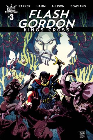 Flash Gordon: Kings Cross #3 (Hamm Cover)