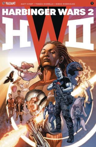 Harbinger Wars 2 #1 (Jones Cover)
