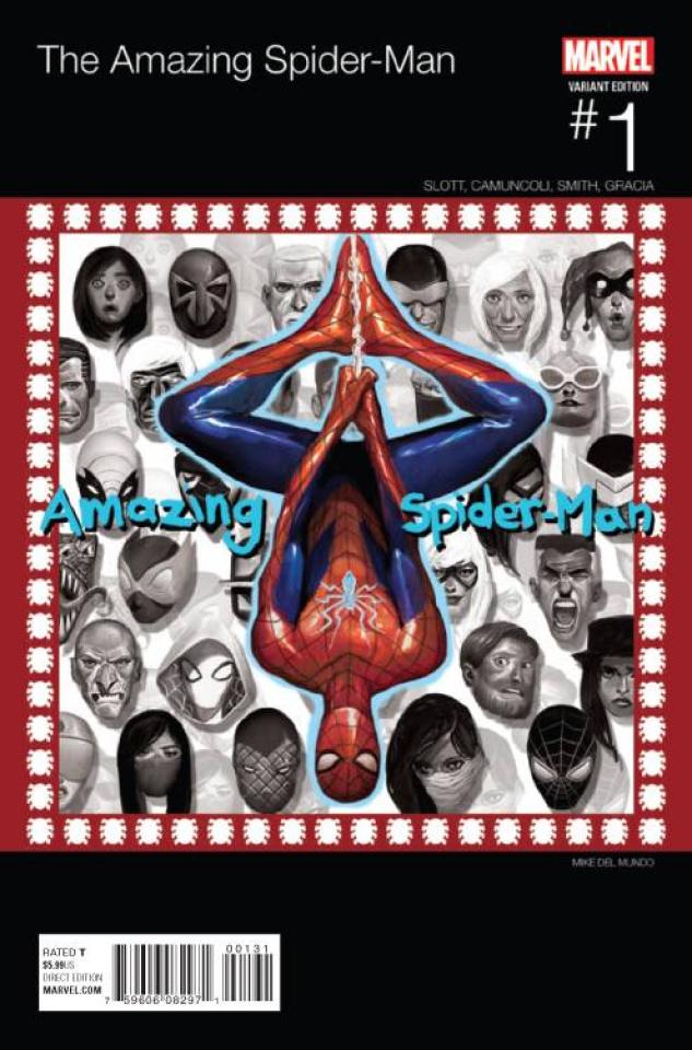 The Amazing Spider-Man #1 (Del Mundo Hip Hop Cover)