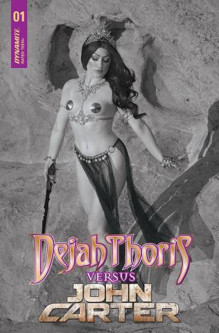 Dejah Thoris vs. John Carter of Mars #1 (30 Copy Cover)