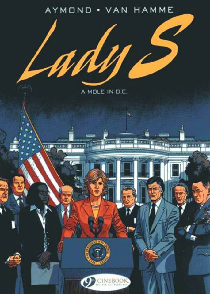 Lady S. Vol. 4: A Mole in DC