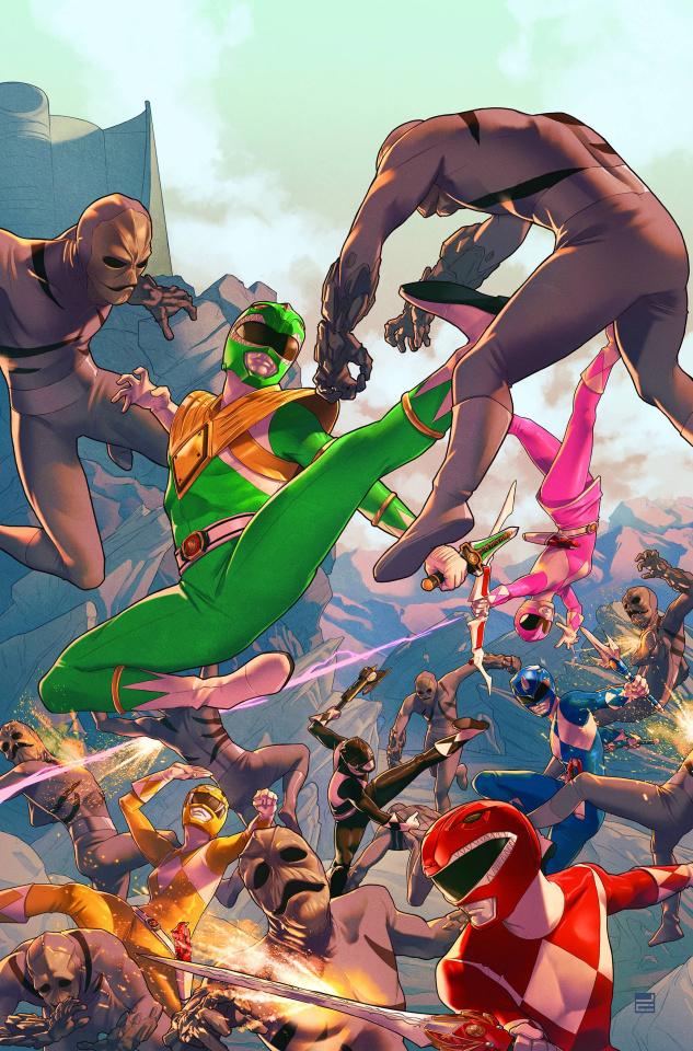 Mighty Morphin' Power Rangers #1