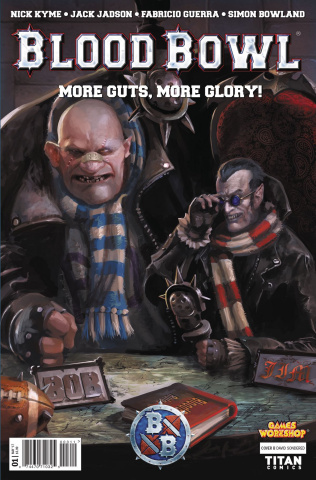 Blood Bowl: More Guts, More Glory! #1 (Sondred Cover)
