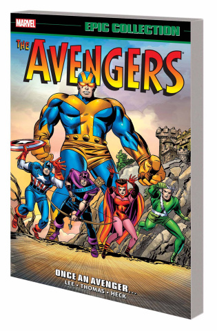 The Avengers: Once An Avenger (Epic Collection)