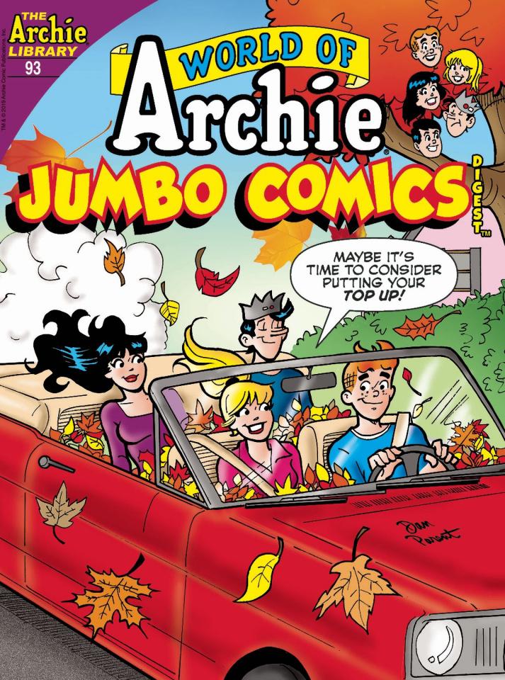World of Archie Jumbo Comics Digest #93