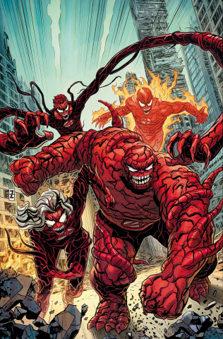 Fantastic Four #12 (Zircher Carnage-ized Cover)