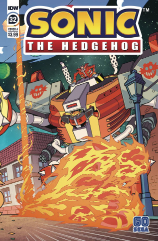 Sonic the Hedgehog #32 (Yardley Cover)