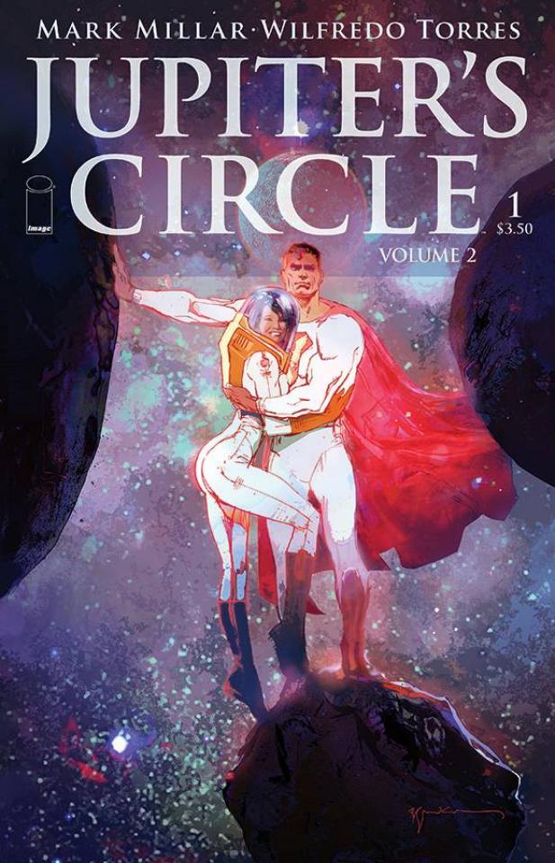 Jupiter's Circle #1 (Sienkiewicz Cover)