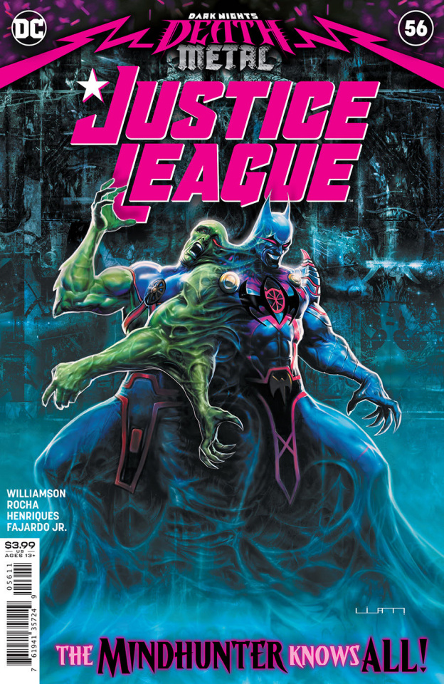 Justice League #56 (Liam Sharp Cover)