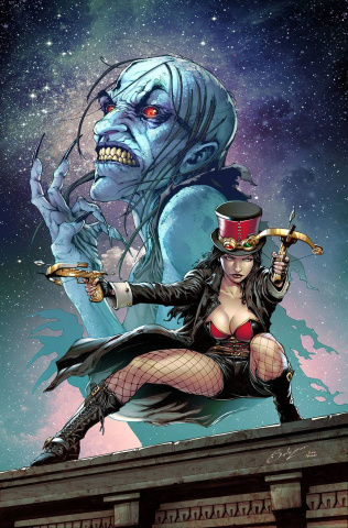 Van Helsing: Black Annis (Edgar Salazar Cover)