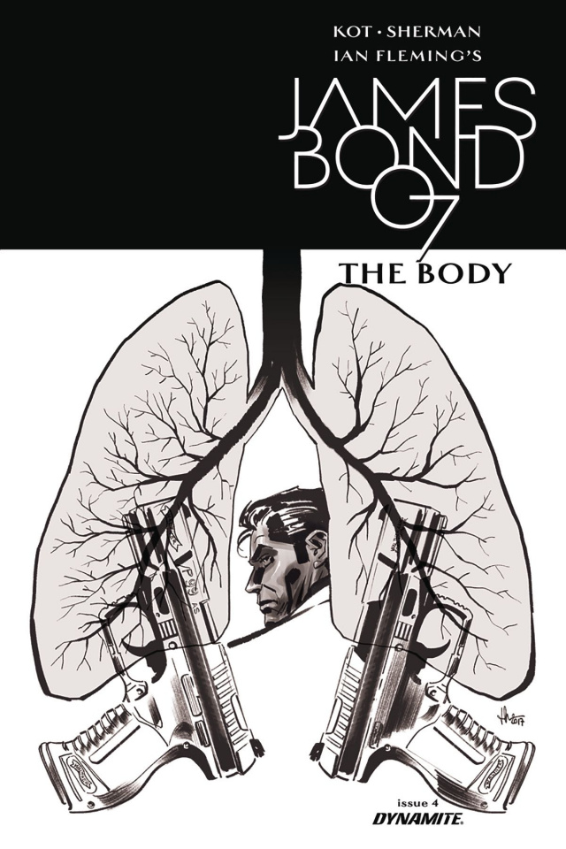 James Bond: The Body #5 (10 Copy Casalanguida B&W Cover)
