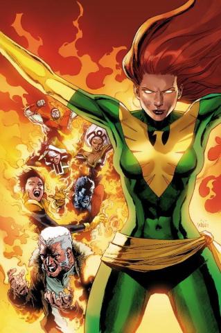 Phoenix Resurrection: The Return of Jean Grey #1 (Yu Green Costumer Cover)