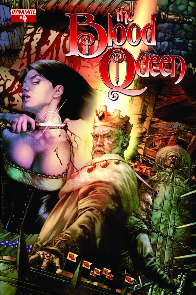 The Blood Queen #4 (10 Copy Garza Cover)