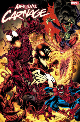 Absolute Carnage #5 (Bagley Cult of Carnage Cover)
