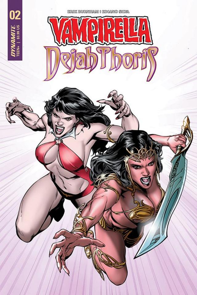 Vampirella / Dejah Thoris #2 (Pagulayan Cover)