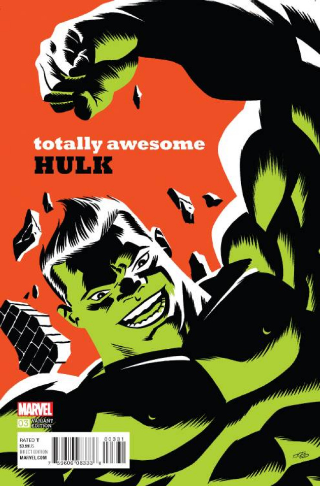 Totally Awesome Hulk #3 (Cho Cover)