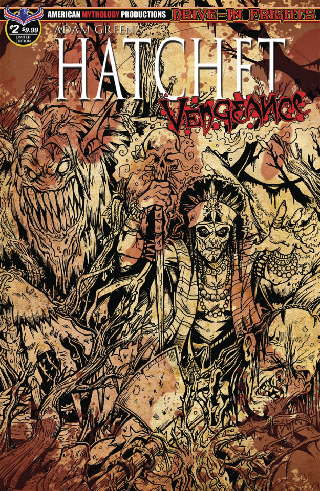 Hatchet: Vengeance #2 (Bloody Horror Cover)