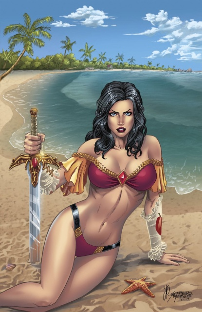 Grimm Fairy Tales Swimsuit Special 2017 (Reyes Cover)