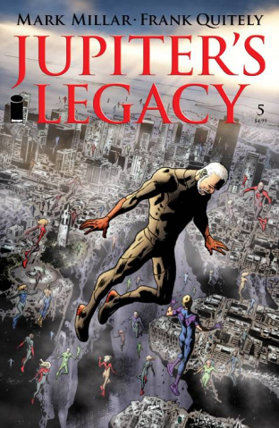 Jupiter's Legacy #5 (Hitch Cover)