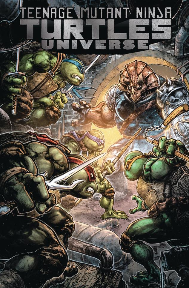 Teenage Mutant Ninja Turtles Universe Vol. 4: Home