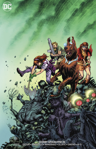 Scooby: Apocalypse #26 (Variant Cover)