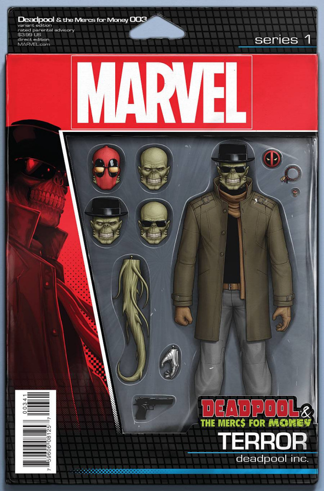 Deadpool and the Mercs For Money #3 (Action Figure Cover)