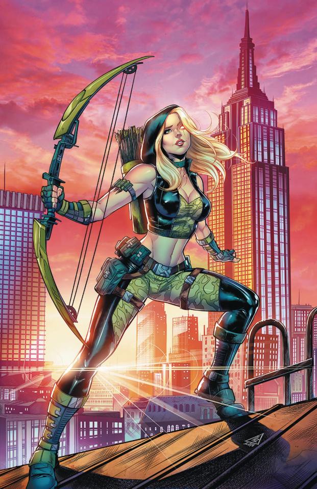 Robyn Hood: Outlaw #3 (Zaldivar Cover)