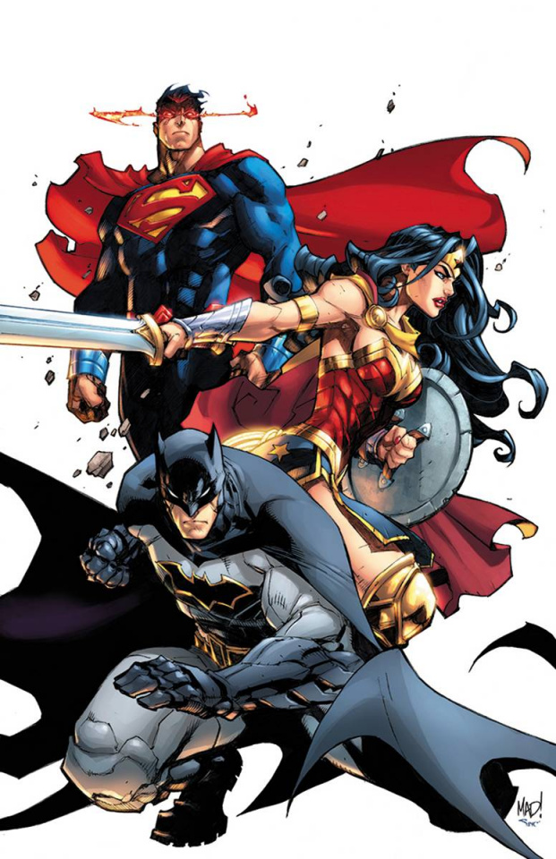 Justice League: Rebirth #1 (Variant Cover)