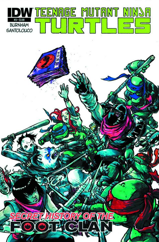 Teenage Mutant Ninja Turtles: The Secret History of the Foot Clan #3 (2nd Printing)