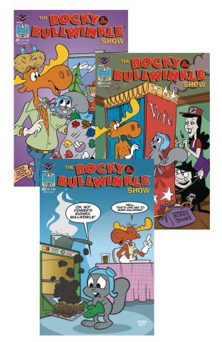 The Rocky & Bullwinkle Show Complete Reader Set