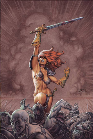 Red Sonja: The Price of Blood #1 (Linsner Virgin Cover)