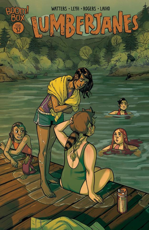 Lumberjanes #57 (Franquiz Cover)