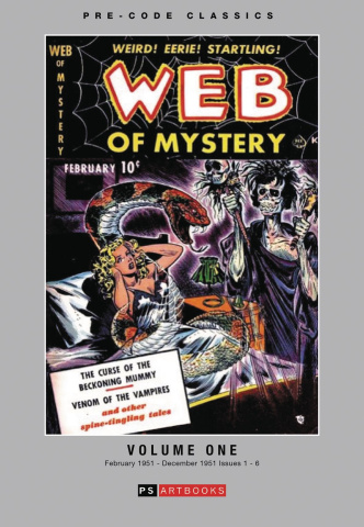 Web of Mystery Vol. 1