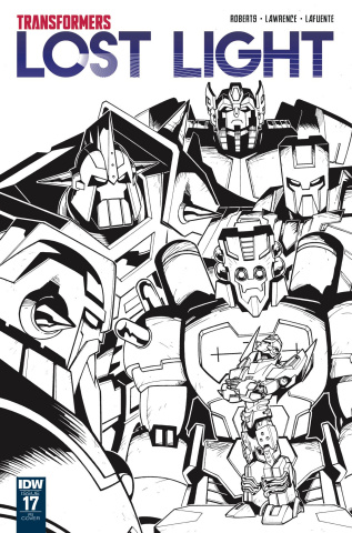 The Transformers: Lost Light #17 (10 Copy Cover)