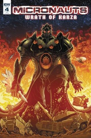 Micronauts: Wrath of Karza #4 (10 Copy Cover)
