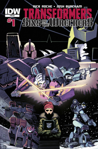 The Transformers: Sins of the Wreckers #1