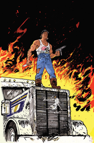 Big Trouble in Little China: Old Man Jack #2 (25 Copy Johnson Cover)