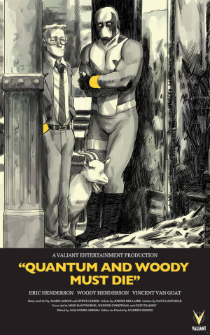 Quantum & Woody Must Die! #1 (25 Copy Zdarsky Cover)