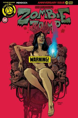 Zombie Tramp #25 (Costa Risque Cover)