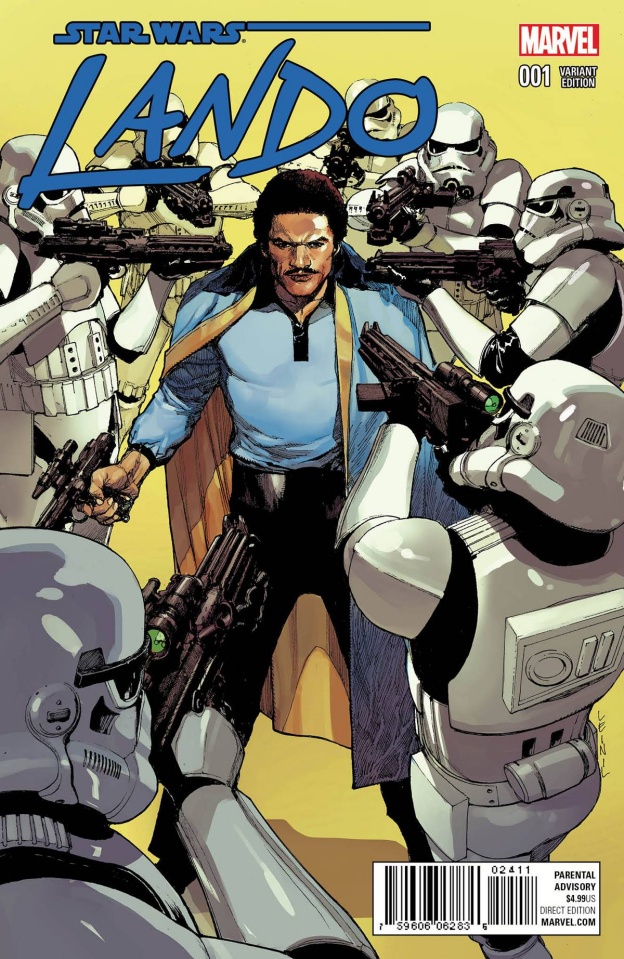 Star Wars: Lando #1 (Yu Cover)