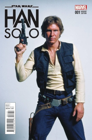 Star Wars: Han Solo #1 (Movie Cover)