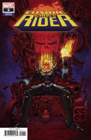 Cosmic Ghost Rider #2 (Superlog Cover)