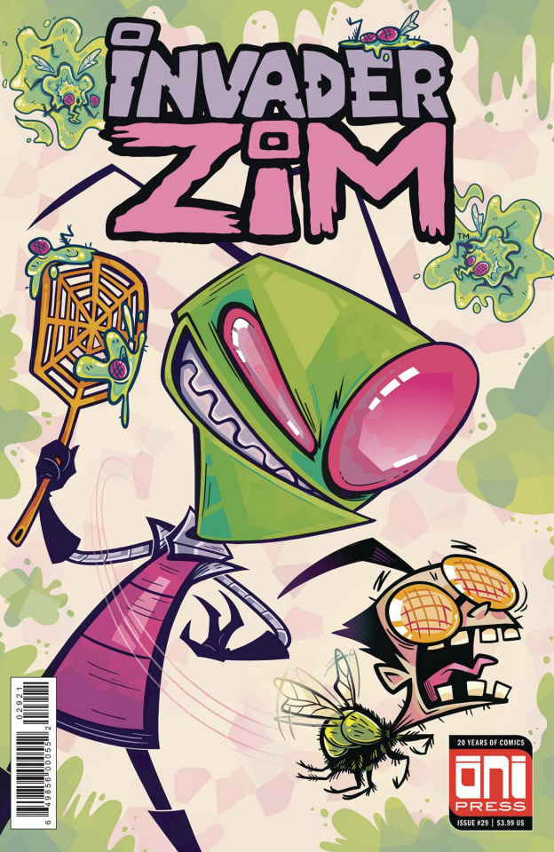 Invader Zim #29 (Megan Ann Boyd Cover)