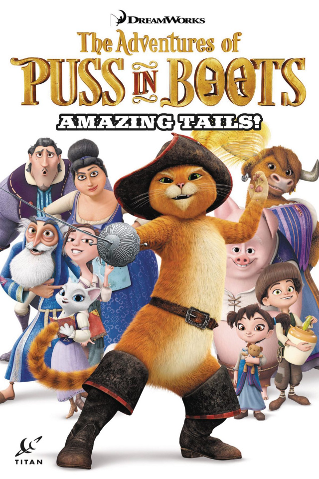 The Advantures of Puss in Boots: Amazing Tails!