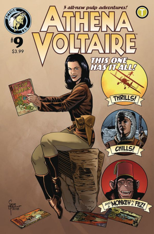 Athena Voltaire #9 (Bryant Cover)