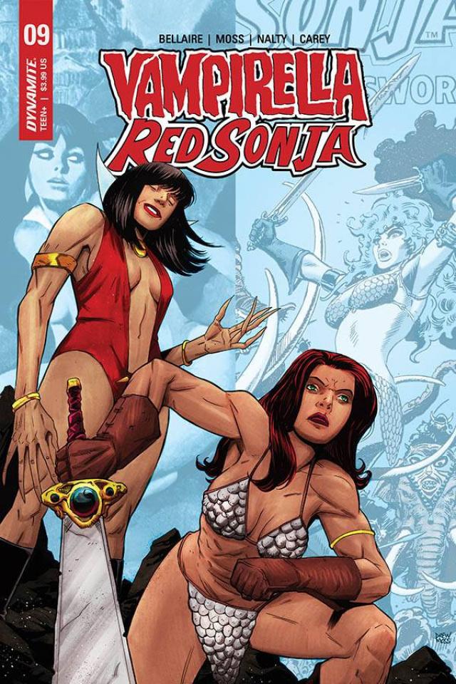 Vampirella / Red Sonja #9 (Moss Cover)