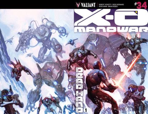 X-O Manowar #34 (Molina Cover)